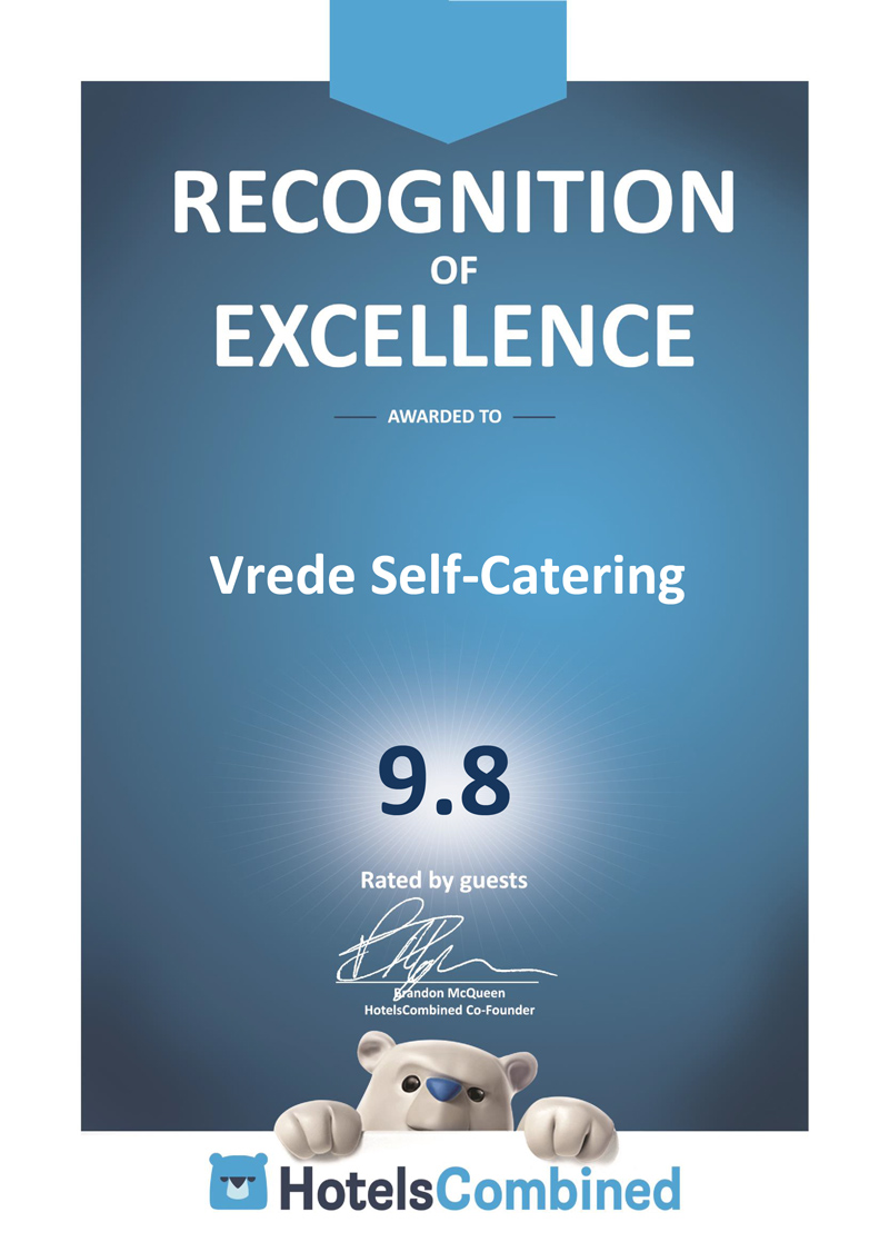 Vrede-Self-Catering-HotelsCombined-Award