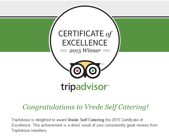 Vrede-certificate-of-excellence-2015